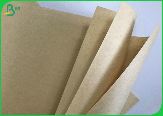 Rolo Unbleached do papel de embalagem do FSC 80G 95G 100G 110G Brown Com polpa reciclada