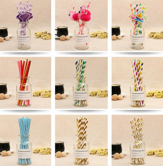 Water Resistant Color Printed Straw Paper with Roll width 15mm to 600mm