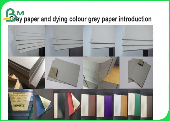 1.2mm recycle pulp High stiffness colored book binding board in sheet