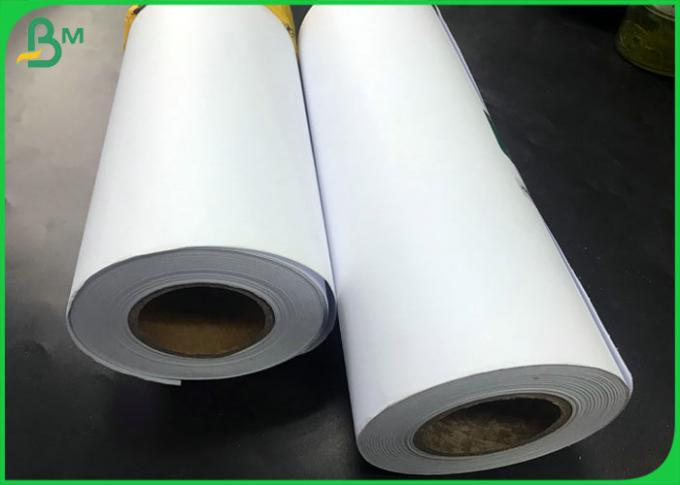 Tracing Paper 20LB 75gsm CAD Drawing Bond Plotter Paper roll with 24