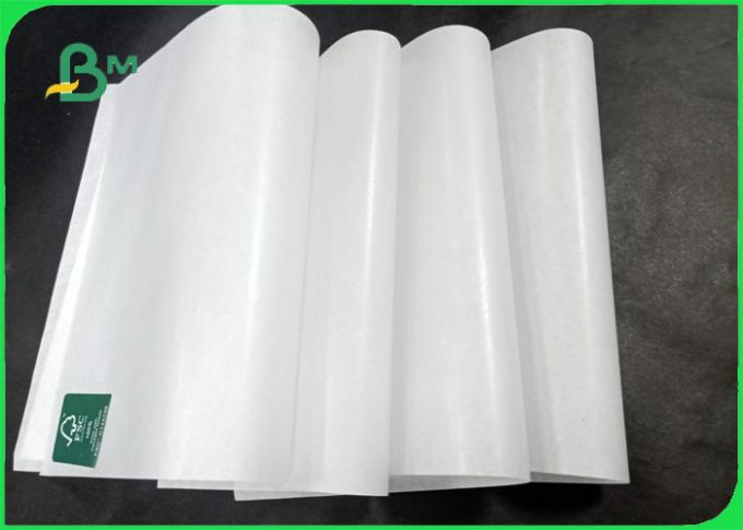 35gsm 40gsm Good breakage resistance FDA Hamburger paper for food packing