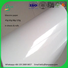 125g 165g 185g 225g cast coated high glossy paper rolls on sale